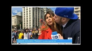News Russia World Cup fan who grabbed and kissed female reporter live on air says sorry