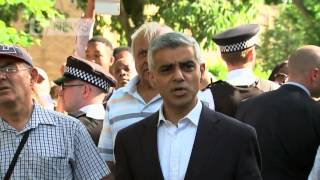Grenfell Tower: Sadiq Khan faces anger of residents