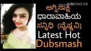 Agnisaakshi serial sannidhi latest hot dubsmash