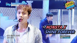 [Comeback Stage] MONSTA X - SHINE FOREVER, 몬스타엑스 - 샤인 포에버 Show Music core 20170624