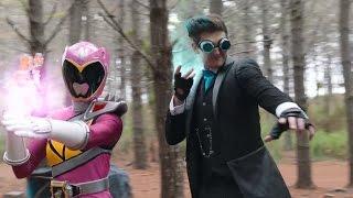Power Ranger Super Dino Charge | Heckyl ayuda a los rangers - capitulo 18