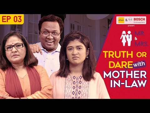 Xxx Mp4 Mr Amp Mrs E03 Truth Or Dare With Mother In Law Feat Nidhi Bisht And Biswapati Sarkar Girliyapa 3gp Sex