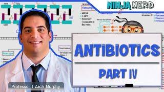 Pharmacology   Antibiotics: DNA & RNA Synthesis   Part 4