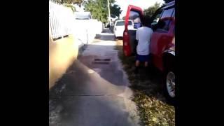 Savage friend pee in car  😅