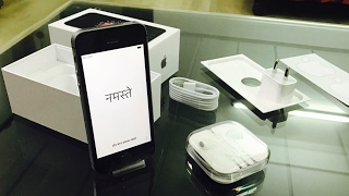 iPhone SE Unboxing 2017 and Quick Look + Initial Setup | India