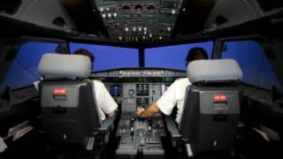 TURKISH AIRLINES A320 TCAS RA- Turkish Subtitle