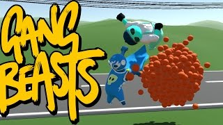 Gang Beasts - Just Above Ground [Father and Son Gameplay]