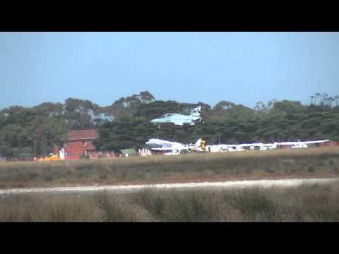 RAAF Hawk 127 Landing At Point Cook Airshow