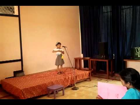 Action song English  std 1, LKG & UKG