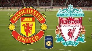 International Champions Cup 2018 - Manchester United Vs Liverpool - 28/07/18 - FIFA 18