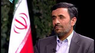 احمدی نژاد در مصاحبه با یورو نیوز
