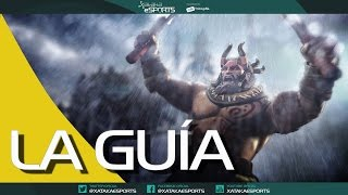 Beastmaster, sigue nuestra guía en español - DOTA 2