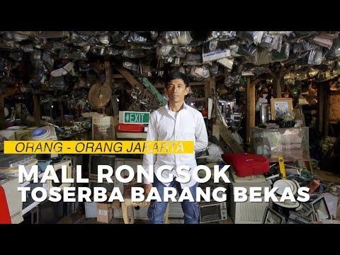 Mall Rongsok, Toserba Barang Bekas