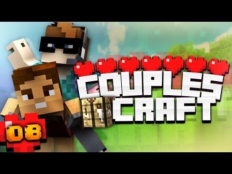 COUPLESCRAFT! - #8 THE SEARCH FOR THE VILLAGE!