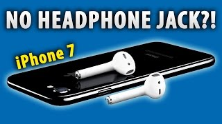 No Headphone Jack On #iPhone7? What A STUPID Decision!