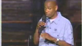 Dave Chapelle - Differences on Men & Women - Funny!!!