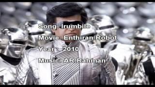 AR.Rahman copycat work in movie Robot-irumbile or irudhayam