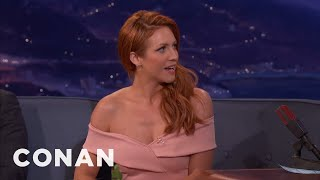 Brittany Snow Invited Al Pacino To A Strip Club  - CONAN on TBS