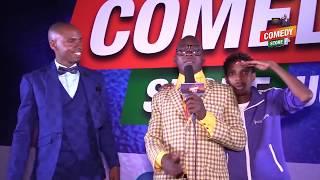 Teacher Mpamire live at Comedy Store Uganda