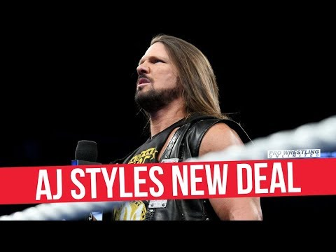 Xxx Mp4 AJ Styles Negotiating A New Deal Wants Specifics Added 3gp Sex