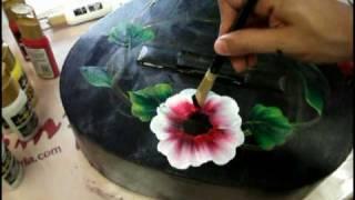 One Stroke HD Painting - Luca Sansone - Alma Flamenca.