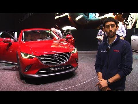 Mazda CX 3 un crossoverino niente male Salone di Ginevra 2015