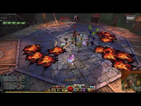 GW2: [LN] 5-Men Sabetha | Druid PoV | 8:42 (0:18 left)
