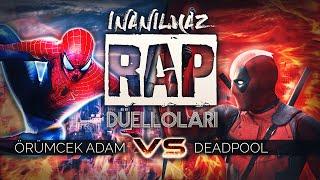 Deadpool vs Spiderman   İnanılmaz Rap Düelloları