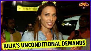 Iulia Vantur's Unconditional Demands At An Award Event | Bollywood News