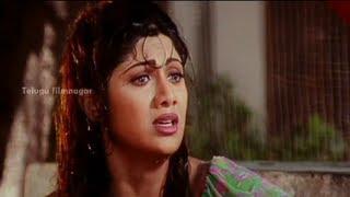 Goons trying to Abduct Shilpa Shetty - Sahasa Veerudu Sagara Kanya Scenes - Venkatesh
