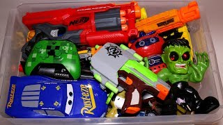 Toy Box Action Figures, Cars, Nerf Guns and More