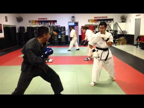 East Bay Karate Do Sparring - John vs. Joe