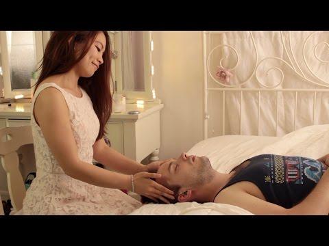 ASMR Men s Relaxing Face and Scalp Massage Part 2