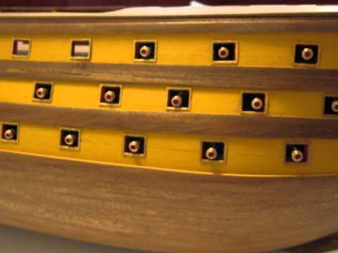 FILMATO MODELLO H.M.S VICTORY 1 78 2010 2011.wmv
