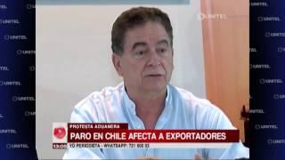Cámara de Exportadores ve perjuicios por el paro de 72 horas en Chile