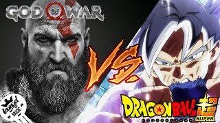 GOKU VS KRATOS RAP - IVANGEL MUSIC   DRAGON BALL SUPER VS GOD OF WAR