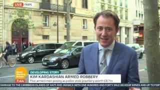 Pink Panther Gang Suspected In Kim Kardashian Robbery | Good Morning Britain