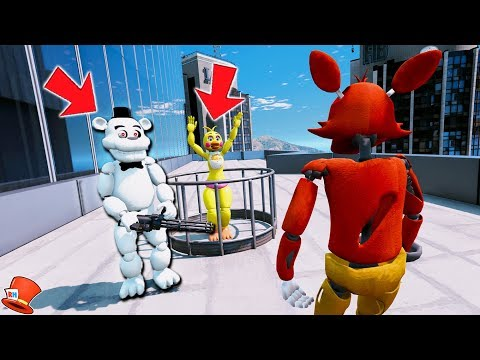 Xxx Mp4 CAN FOXY SAVE TOY CHICA FROM EVIL WHITE FREDDY GTA 5 Mods FNAF Kids RedHatter 3gp Sex