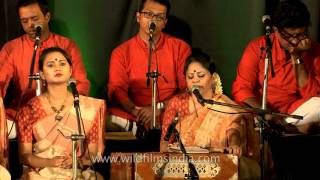 'Amar Khela Jokhon Chilo Tomar Shone' by Rezwana Choudhury Bannya's group Shurer Dhara
