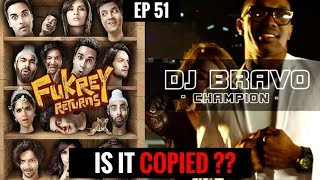 Plagiarism in Bollywood Music | DJ Bravo Champion copied from Bollywood?? || EP 51