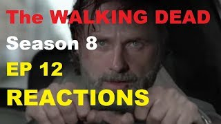 The Walking Dead Season 8 - EPISODE 12 The Key - REACTIONS LIVE