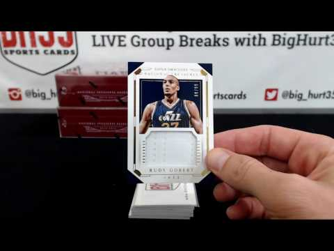 2015/16 Panini National Treasures Basketball | 4 Box Case Break #5 Pick Your Teams