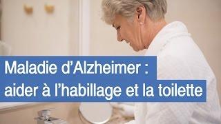 Maladie d'Alzheimer : l'habillage et la toilette