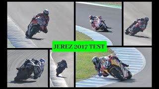 MotoGP and Sbk riding together at Jerez