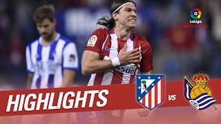 Resumen de Atlético de Madrid vs Real Sociedad (1-0)