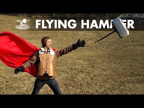 Can I Make Thor s Hammer Mjölnir Fly