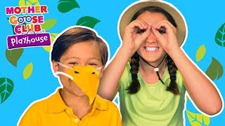 Little Bitty Birdy | Songs for Kids | LEARN ANIMALS | Mother Goose Club Playhouse Kids Video