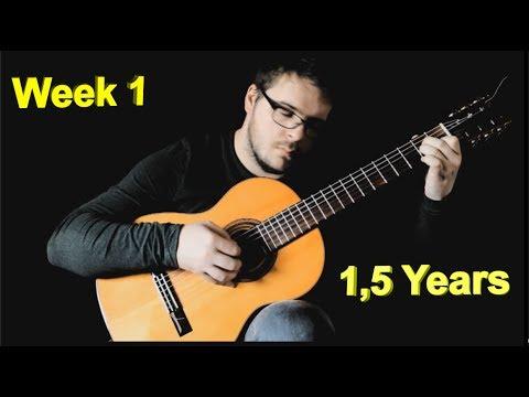 Xxx Mp4 Adult Beginner Guitarist Progress Video Week 1 1 5 Years 3gp Sex