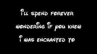 Enchanted - Taylor Swift Lyrics