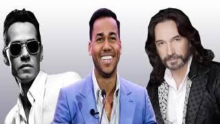 Marc Anthony, Romeo Santos, Marc Antonio Solis Exitos ROMánticos